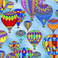 Balloon Festival BALLOONS BLUE