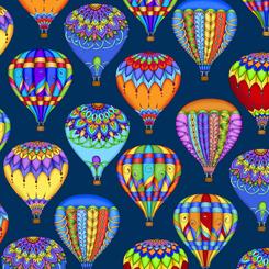 Balloon Festival BALL0ONS NAVY