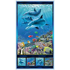 Artworks Xvi Dolphin Panel