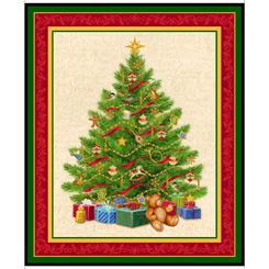 O Tannenbaum CHRISTMAS TREE PANEL GREEN