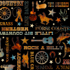 Lil' Bit Country COUNTRY PHRASES BLACK