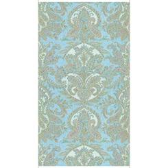 Versailles MEDALLION PANEL BLUE 27550 b