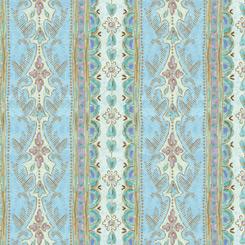 Versailles DECORATIVE STRIPE BLUE 27753 B
