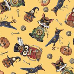 Steampunk Halloween 27771-S Steampunk Halloween Toss Gold