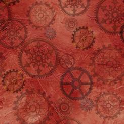Aquatic Steampunkery - Gears / Red
