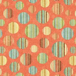 Toyland Circles Orange 27780-O