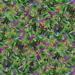 Songbirds Leaves Violet