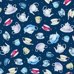 This & That II TEAPOTS NAVY