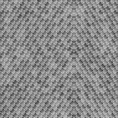 QT Fabrics  Always Face The Sunshine HONEYCOMB GRAY 27849-K
