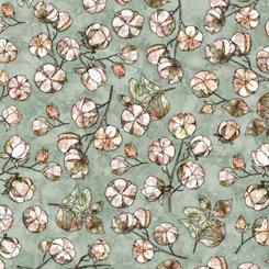 QT Fabrics Cotton Couture COTTON TOSS LIGHT GREEN 27865-H