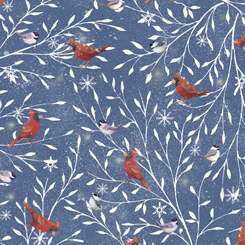 Woodland Buddies CARDINALS DENIM