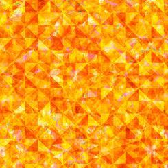 QT Fabrics Reflections EVOLUTION QUILTED ALLOVER ORANGE 27881-O