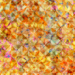 QT Fabrics Reflections EVOLUTION QUILTED ALLOVER AMBER 27881-SX