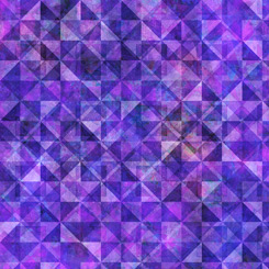 Reflections EVOLUTION for QT Fabrics QUILTED ALLOVER GRAPE 27881-V