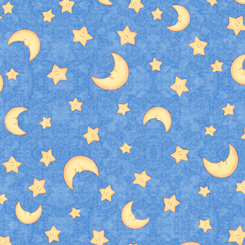 Lullaby MOON & STARS DARK BLUE