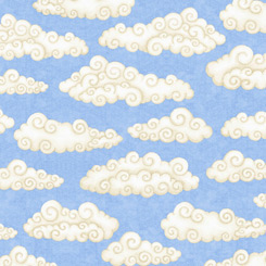 Lullaby CLOUDS BLUE
