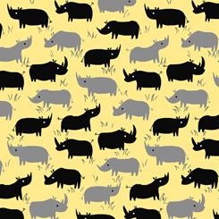 Dyno Rhino RHINO SILHOUETTES YELLOW