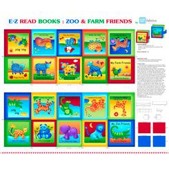 Sew & Go XIII Zoo & Farm Book