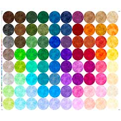 Rapture Colors RAPTURE CIRCLES STRIP PANEL MULTI