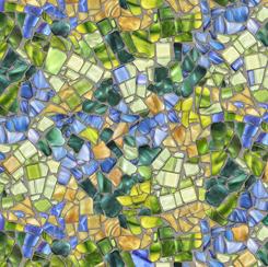 Glass Menagerie MOSAIC BLUE/GREEN