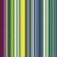 Multicolor Stripe Yardage