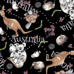 Kiwis & Koalas ANIMAL TOSS BLACK