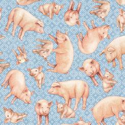 Greener Pastures PIGS BLUE