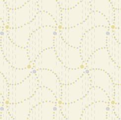 Coco Chic by QT Fabrics - Swell Swirl - Cream