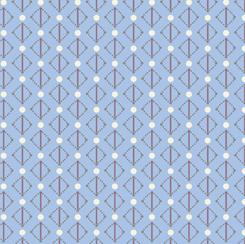 Coco Chic by QT Fabrics Mono Dots - Blue