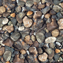 28110-X Quilting Treasures Open Air ROCKS MULTI