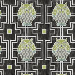 Nocturne Owl Trellis Graphite 28114 K
