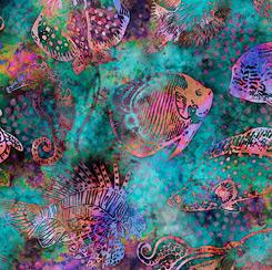 Aquatica FISH TEAL