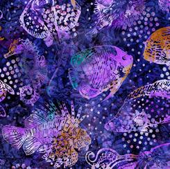 Aquatica Fish Purple