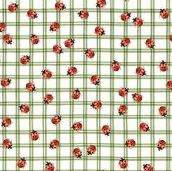 LADYBUG CHECK GREEN 28150-H
