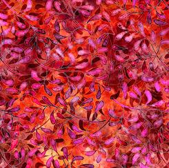 Tropicalia LEAF VINE RED