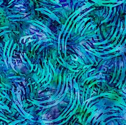 Tropicalia Swirl Geo Blue 28192-B