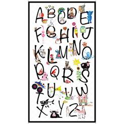 Alphabet Soup ALPHABET SOUP WHITE PANEL