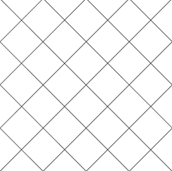 Alphabet Soup DIAGONAL GRID WHITE- FA-28213-Z