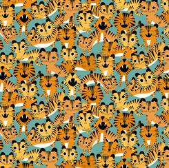 Tiger Tails TIGERS Tails AQUA