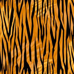Tiger Tails Tiger Skin Burnt Orange