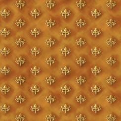 Literary Kitties 28240-S FOULARD GOLD