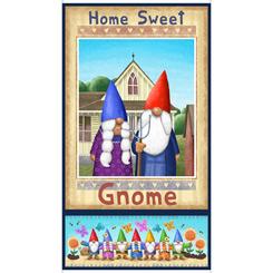 Home Sweet Gnome Panel-Multi