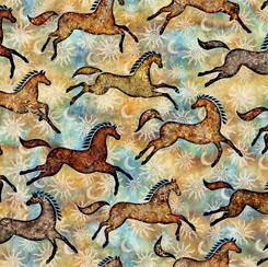 Southwest Reflection Ponies Tan