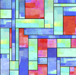 Stained Glass Garden STAINED GLASS MULTI