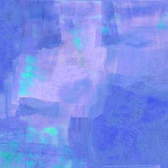 Stained Glass Garden BLENDER BLUE