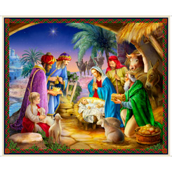 The Nativity NATIVITY PANEL MULTI 36