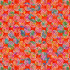 Brilliance Diagonal Scroll Orange 28239 O