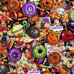 Tricks & Treats HalloweenTreats Multi  28343X