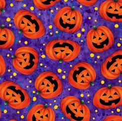 Tricks & Treats Pumpkin Toss Purple 28344 V