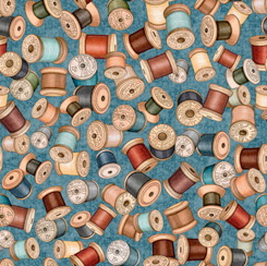 Sew Lovely SPOOLS BLUE